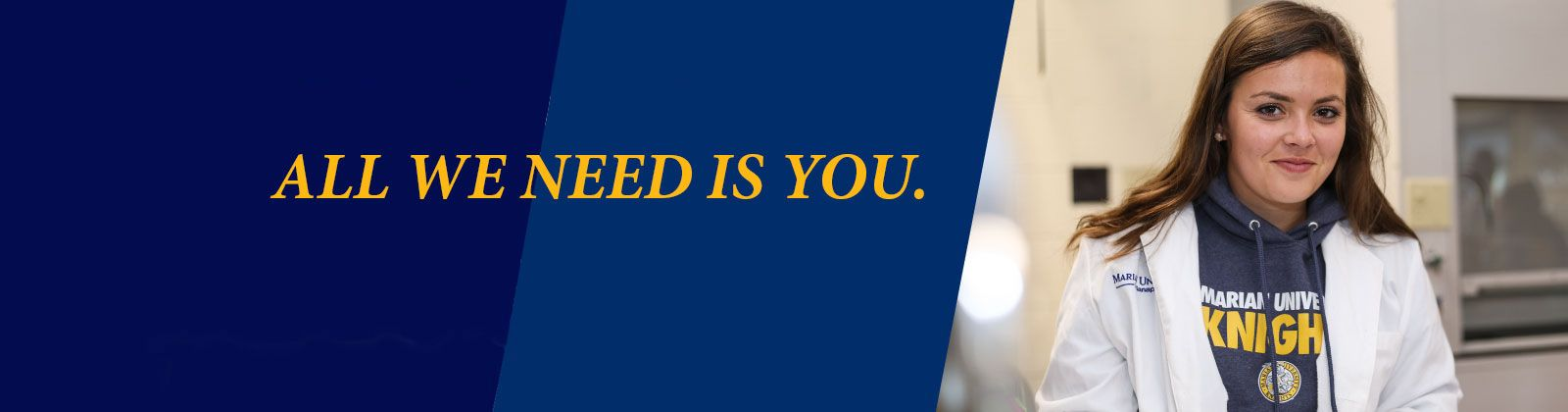 give now to marian university