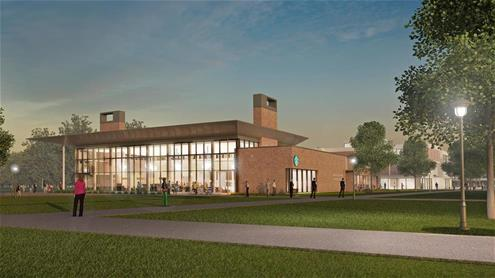 Alumni Hall Rendering