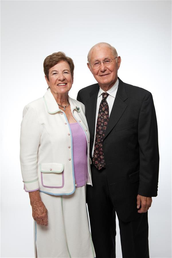 Lois and Sidney Eskenazi