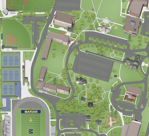 Virtual Campus Map