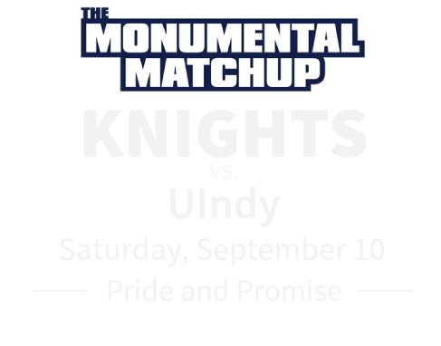 knights vs uindy sept 10