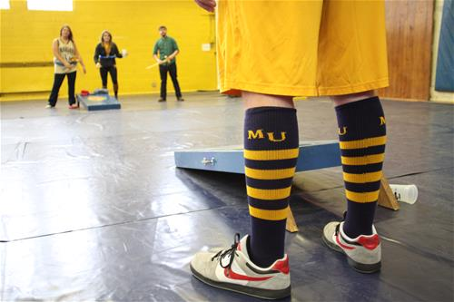 Marian University Spirit Socks
