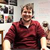 Daniel Burkhardt is a peer tutor in Marian University's Writing Center