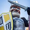 Marian University loves our mascot Knightro