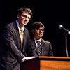 Members of Marian University's award-winning speech team