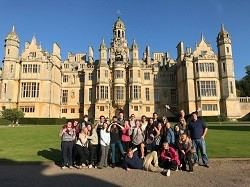 Marian University students at Harlaxton College