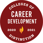 Colleges of Distinction Career Development Recognition
