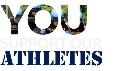 You support our athletes