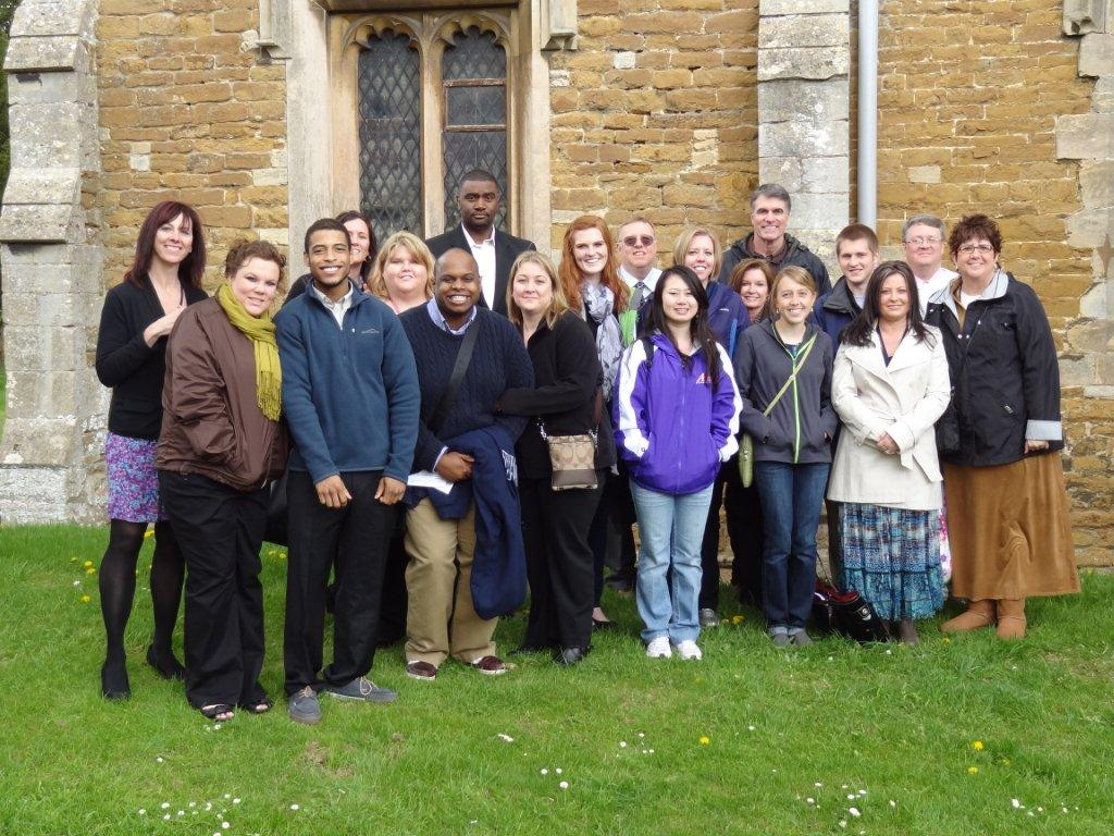 Harlaxton Students 2012