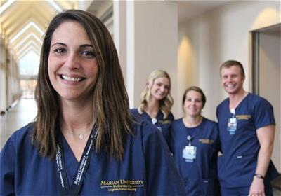 Marian University Nursing Students