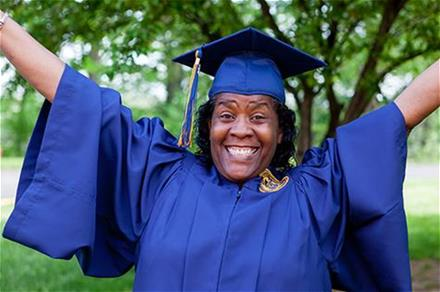 Sherry Hardaway's Graduation Photo