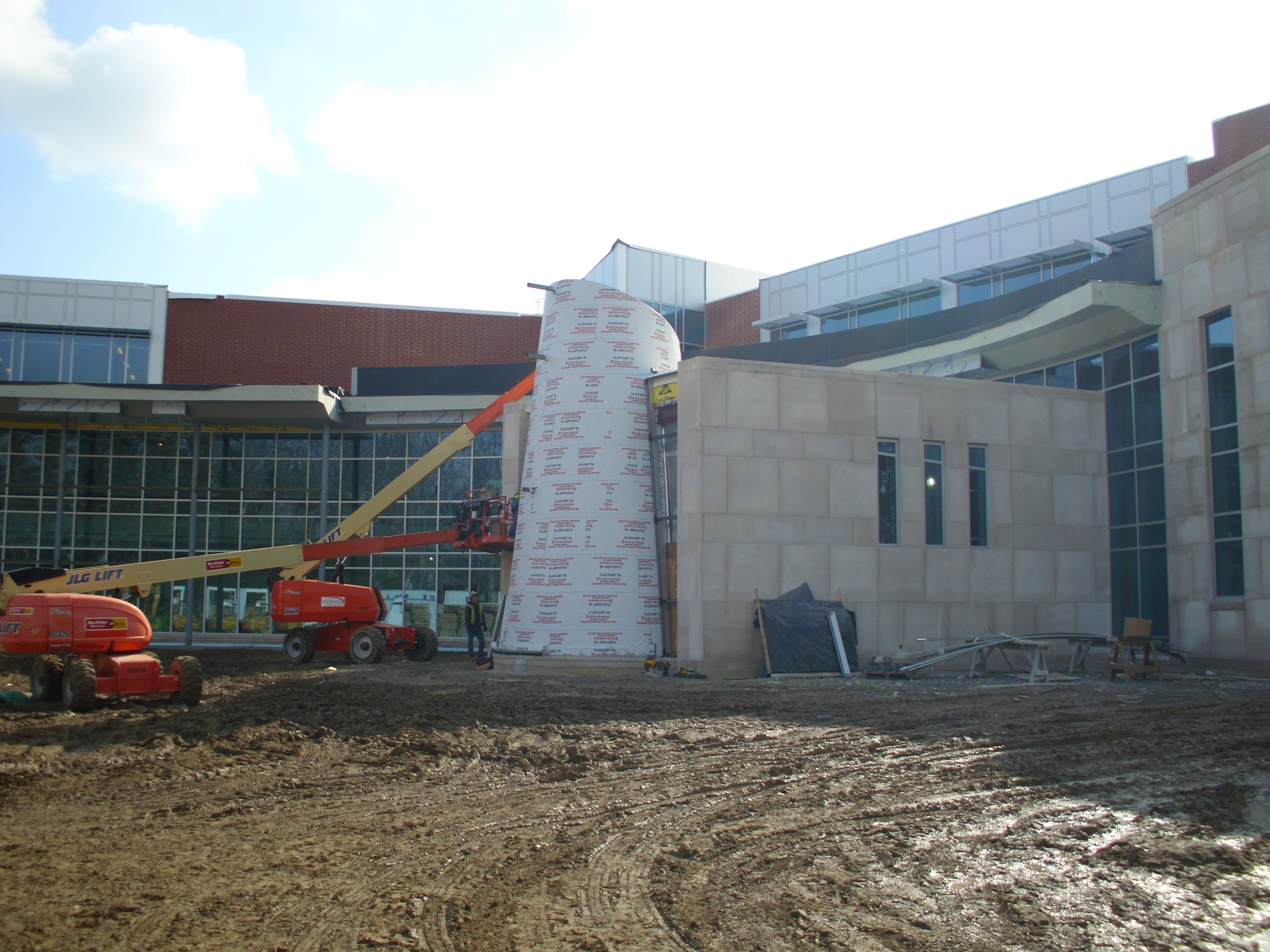 Evans Center Construction