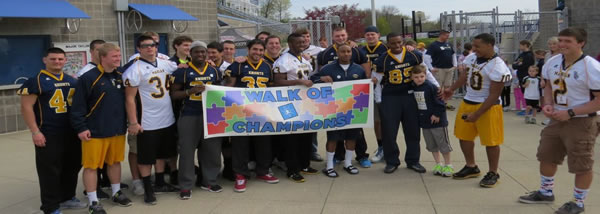 third annual Walk of Champions