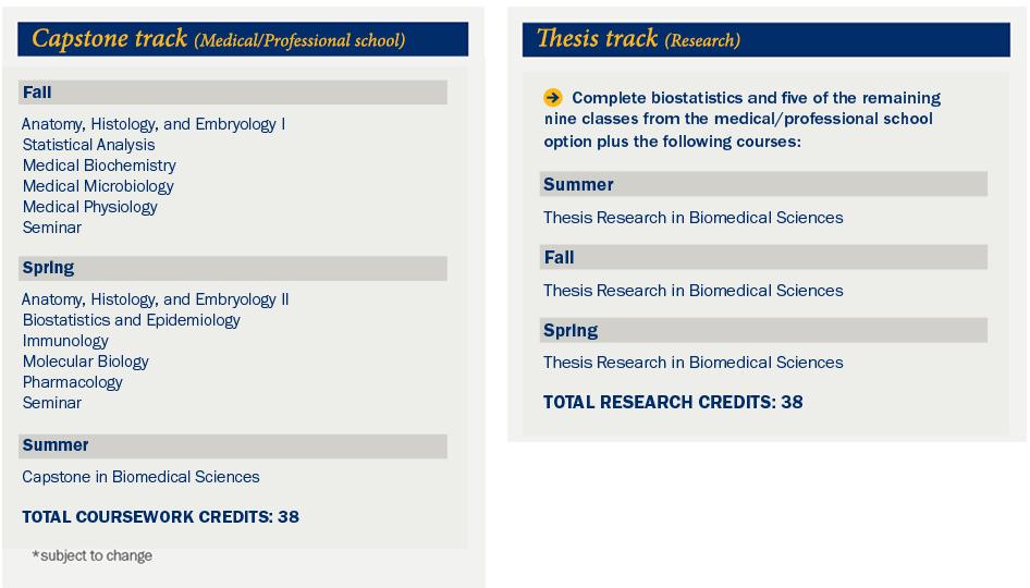 Master\'s in Biomedical Sciences (BMS) Program | Marian University