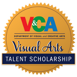 visual arts talent scholarship