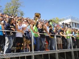 Students Crowed at Football Games