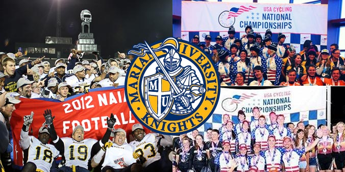 Marian University National Champion Teams